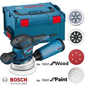 levigatrice roto orbitale Bosch Professional GEX 125-150 AVE